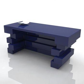 Scrivania moderna Alford bancone negozio design moderno 170 cm