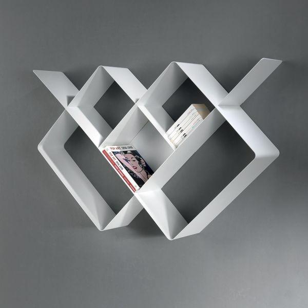 Librerie Moderne In Acciaio.Dettagli Su Libreria Moderna Componibile In Acciaio Mondrian Librerie Moderne X Camerette