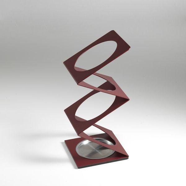 Portaombrelli Molla design moderno in acciaio inox