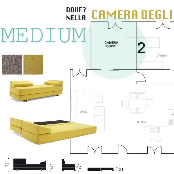 Infografica Arredamento Divani Letto