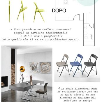 Sedie Tavolini Pieghevoli Infografica