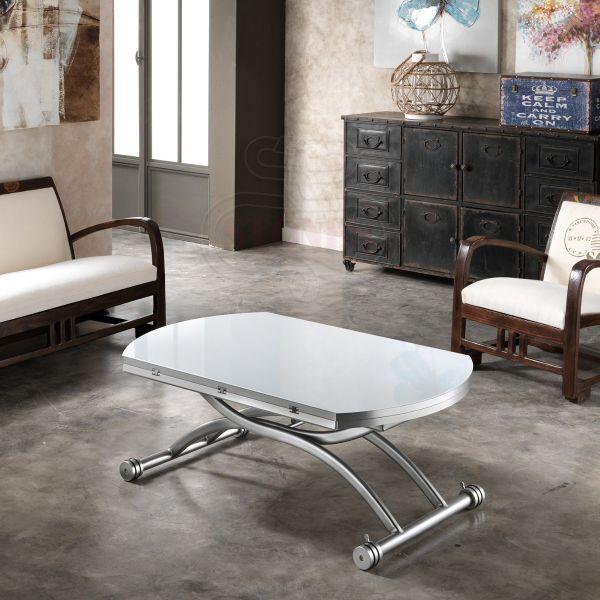 Gateway tavolino da salotto allungabile e alzabile 105 cm