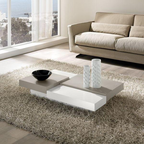 Tavolino moderno per soggiorno lionel tavolo basso for Tavolo salotto
