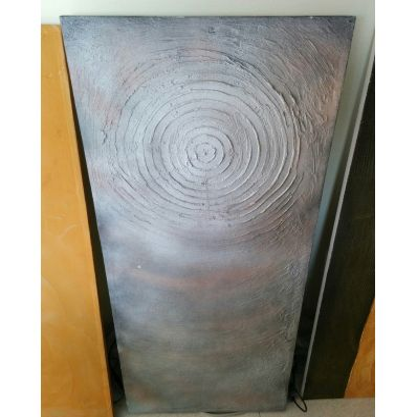 Quadro riscaldante ad infrarossi a muro 120 x 60 cm Crystal Zen