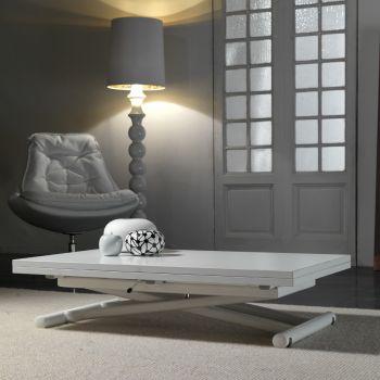 Mind tavolino da salotto trasformabile in tavolo da pranzo 110x140 cm