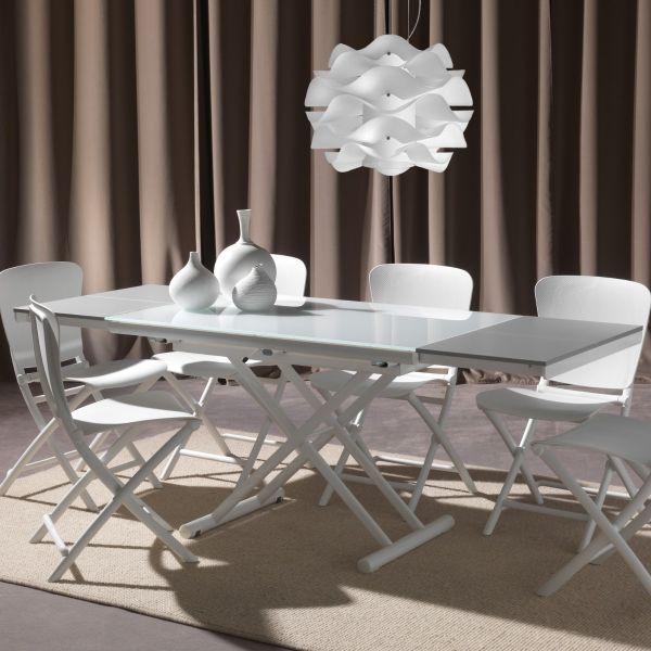 Tavolino da salotto salvaspazio trasformabile in tavolo 205 cm Sofast
