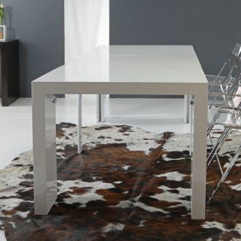 Splendid tavolo consolle allungabile laccato lucido fino a 300 cm