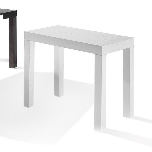 Consolle allungabile in tavolo da pranzo fino a 200 cm Rapida Small