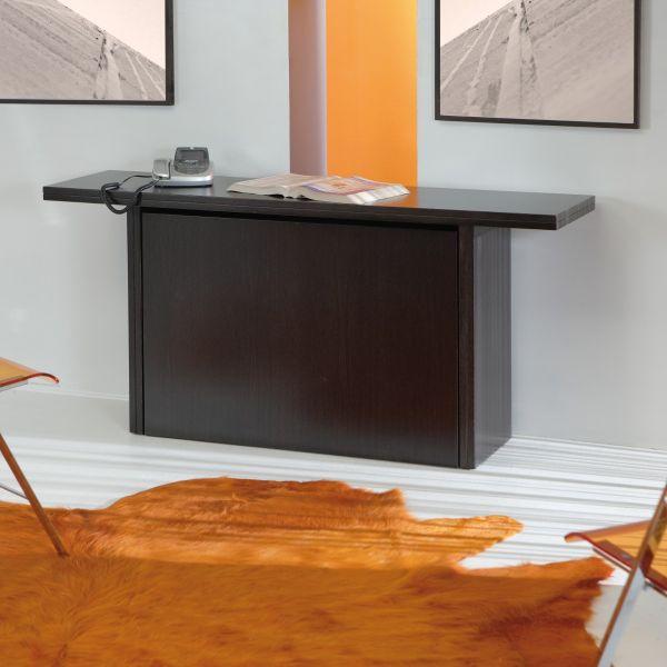 Kombine consolle tavolo trasformabile con panca in legno 160 x 90 cm