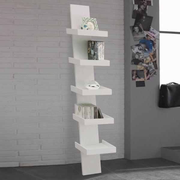 Libreria moderna a colonna verticale design in legno Climbing
