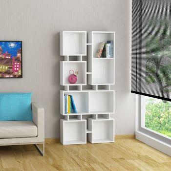 Johnny 2 libreria design scaffale da parete in legno 160 x 80 cm