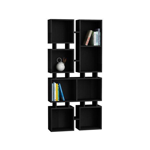 johnny 2 libreria design moderno scaffale a muro in legno 160 x 80 ... - Soggiorno Pareti Colorate 2