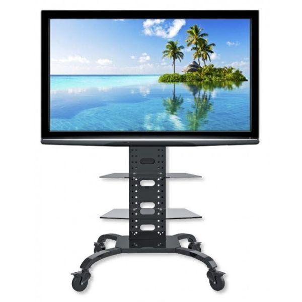 Tripper carrello porta tv grandi dimensioni regolabile 32 70 pollici - Carrello porta tv meliconi ...