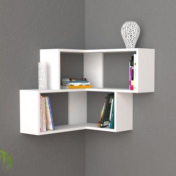 Angular mensola ad angolo design moderno in legno
