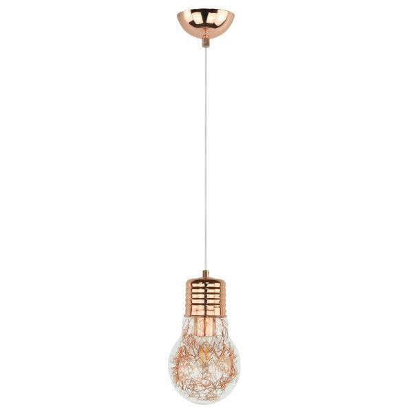 Marjatta lampadario a sospensione a forma di lampadina