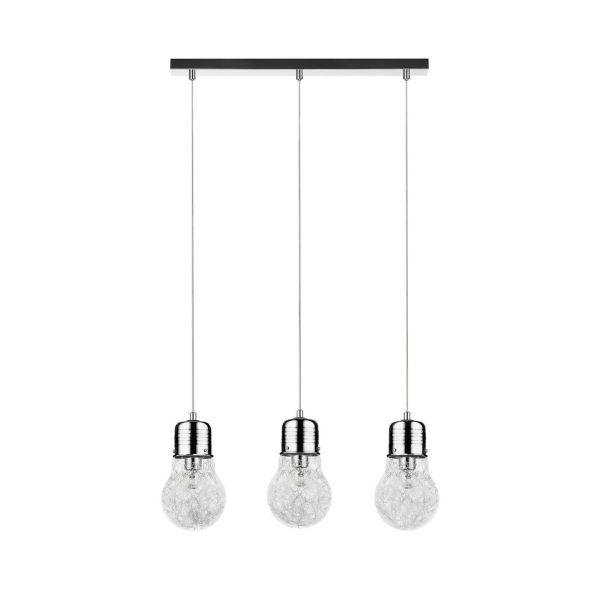 Marjatta 3 lampadario a sospensione 3 luci a forma di lampadina
