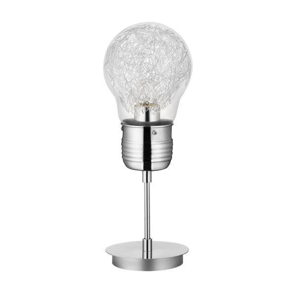 Marjatta lampada da tavolo abat jour a forma di lampadina
