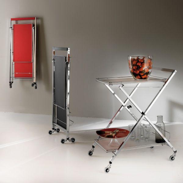 Flash carrello da servizio cucina richiudibile ed appendibile