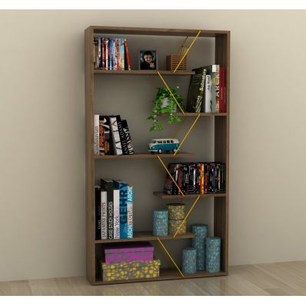 Libreria divisoria separa ambienti per soggiorno Wilmark