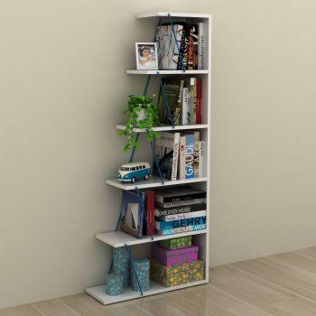 Gradient libreria scaffale per soggiorno a forma di scala