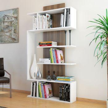 Beryl libreria a giorno verticale design moderno 90 x 170 cm