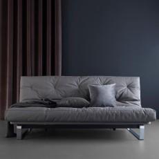 Divano letto Minimum matrimoniale reclinabile materasso classico 140 x 200 cm