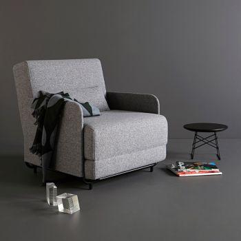Fluxe poltrona letto design scandinavo salvaspazio