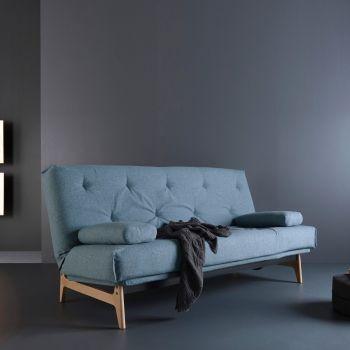 Aslak divano letto matrimoniale regolabile inclinabile 140x200 cm