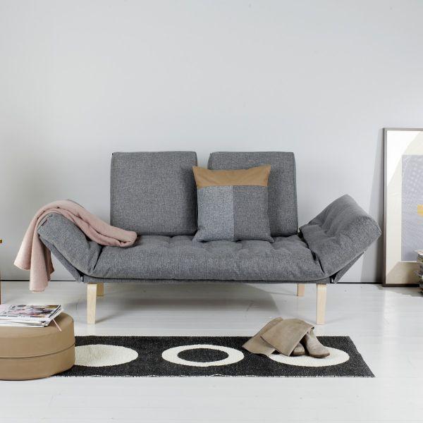 Rollo divano letto daybed singolo sfoderabile reclinabile - Divano letto piccole dimensioni ...