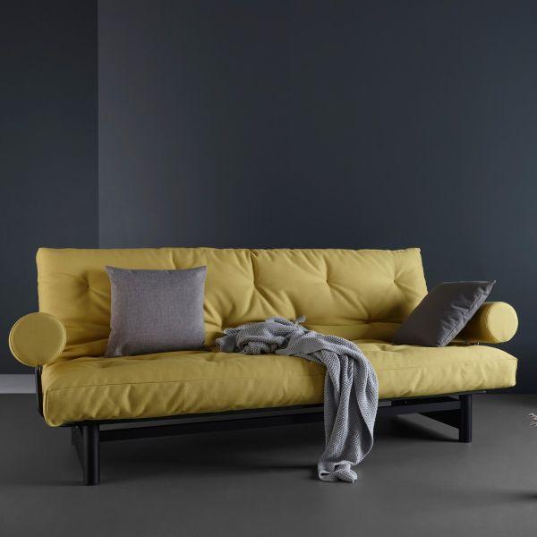 120 divano letto ad una piazza e mezza sfoderabile 120x200 cm