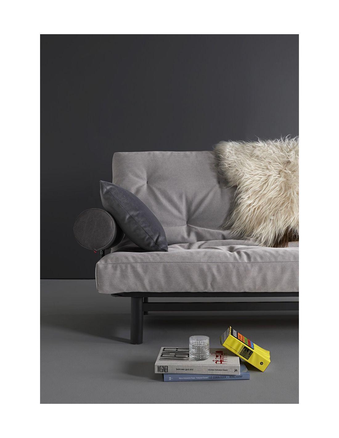 Fuji 120 divano letto ad una piazza e mezza sfoderabile 120x200 cm - Divano una piazza e mezza ...