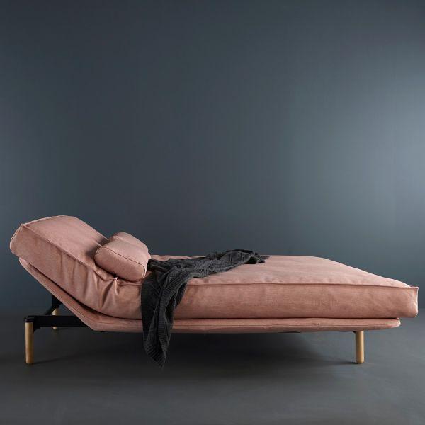 Vidar divano letto design nordico matrimoniale sfoderabile
