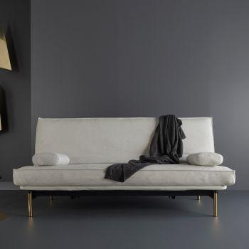 Frigga divano letto uso giornaliero matrimoniale sfoderabile 140 x 200 cm