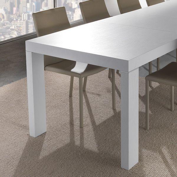 Tavolo da pranzo allungabile Helmer in legno design