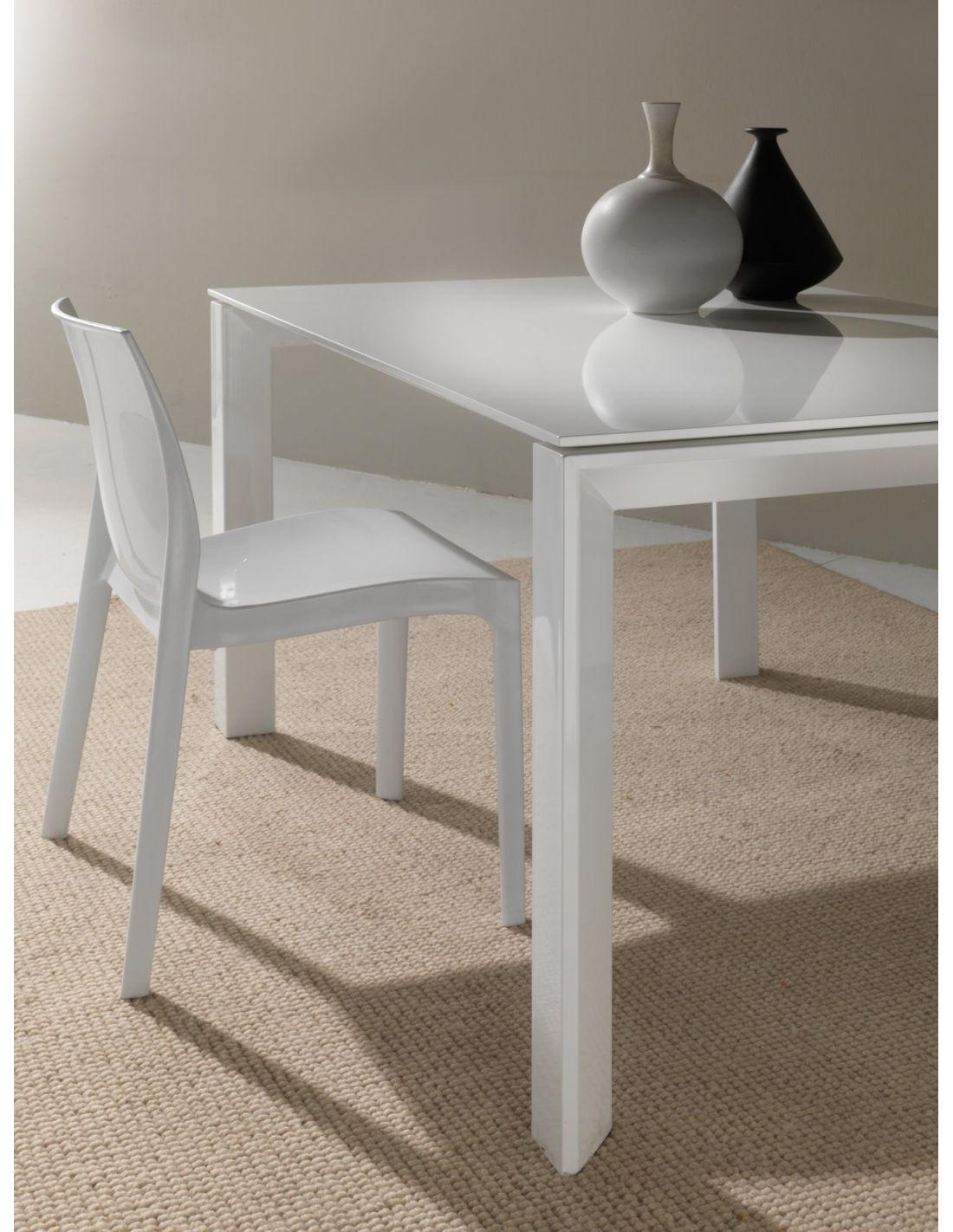 Tavolo in vetro allungabile per cucina o soggiorno 120 x for Tavolo cucina design