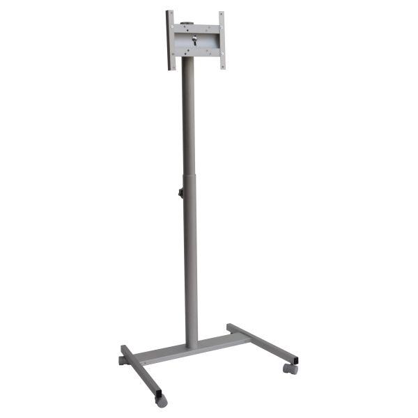 Piantana porta TV in alluminio regolabile in altezza Totem T32