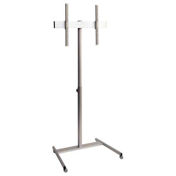 Carrello porta TV Totem T46 regolabile in altezza con passacavi