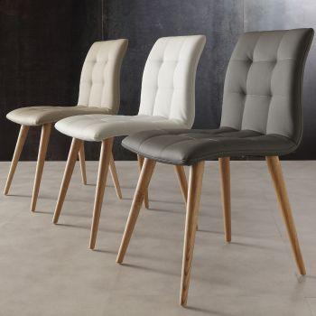 Sedie cucina in legno o plastica o propilene - Smart Arredo Design