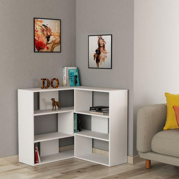 Foldy 1 libreria angolare componibile design moderno