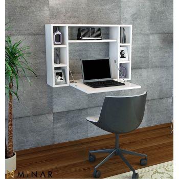 Scrivanie da ufficio porta pc dal design moderno smart for Scrivania a scomparsa a parete