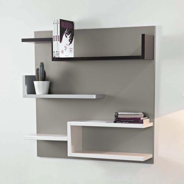 Libreria design moderno in legno da parete Myshelf