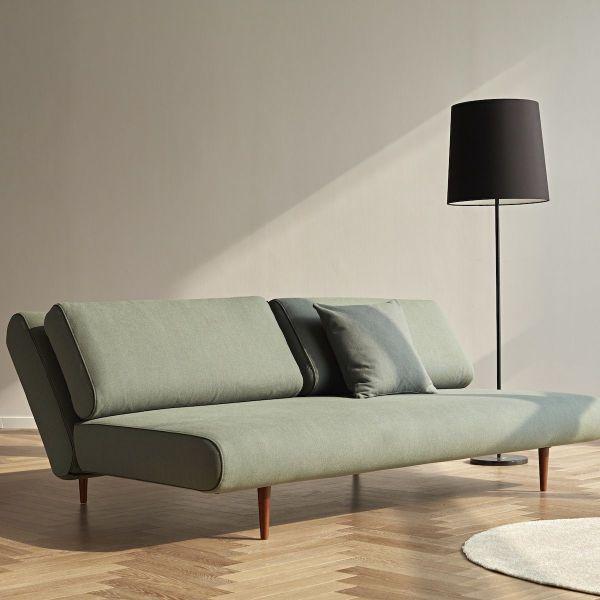 Divano letto design scandinavo 140x200 cm Unfurl Lounger