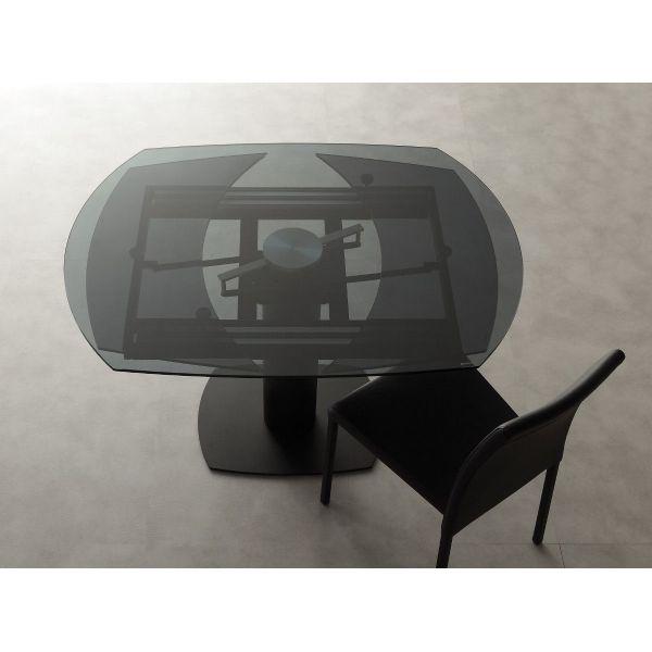 Tavoli Allungabili Design Vetro.Tavolo Allungabile Design Moderno In Vetro Malachi