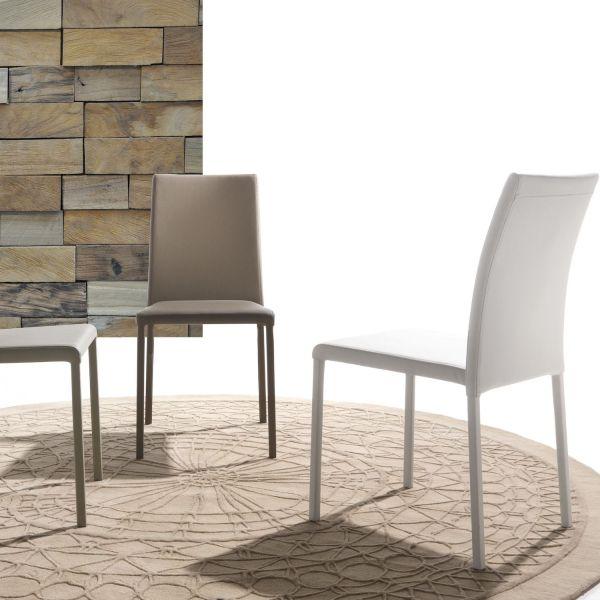 Sedia impilabile design moderno per sala da pranzo Rosalie