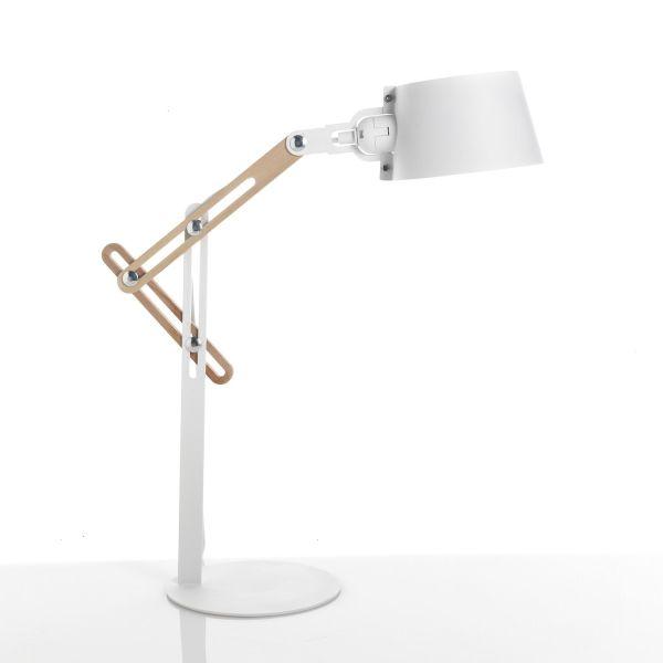 Lampada da tavolo Premiere regolabile e orientabile