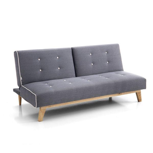 Divano letto clic clac e schienale reclinabile Erling
