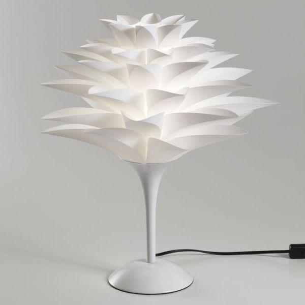 Lampada da tavolo a forma di fiore Yumiko