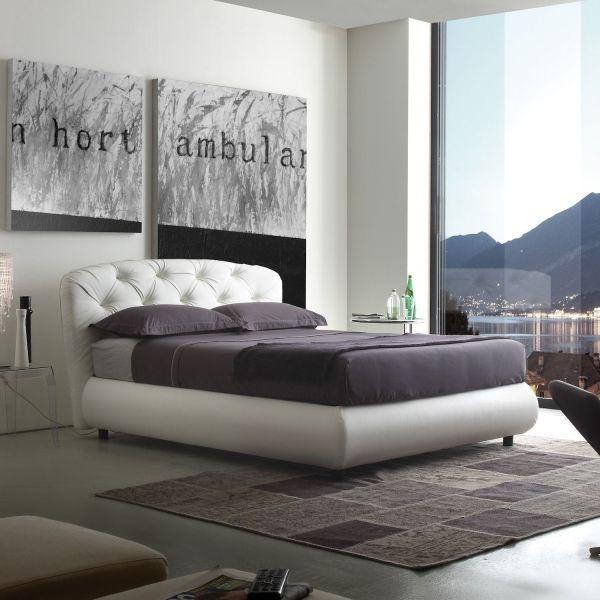 Letti Con Contenitore Design.Letto Matrimoniale Con Contenitore Design Moderno Vilmos