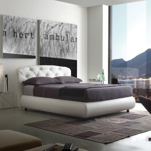 Letto Matrimoniale Contenitore Design.Dettagli Su Vilmos Letto Matrimoniale Design Moderno Con Contenitore Rivestimento Ecopelle
