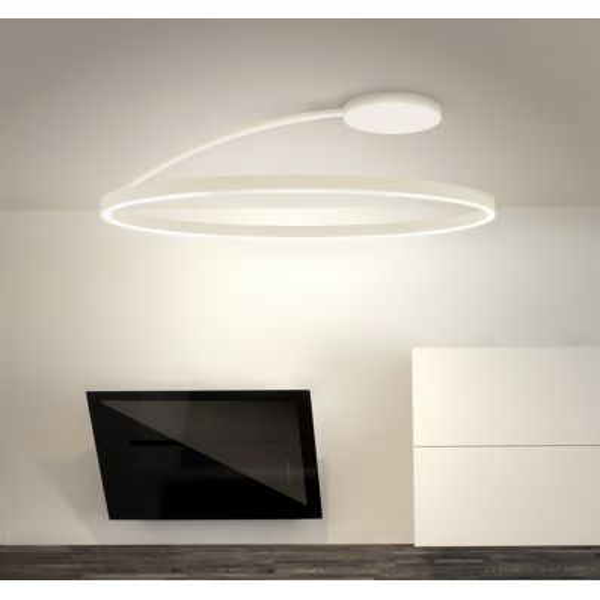 Lampadario plafoniera circolare a LED Bellai Home